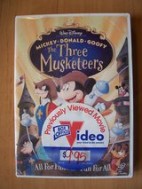 DVD (The Three Musketeers) in Ramstein, Germany