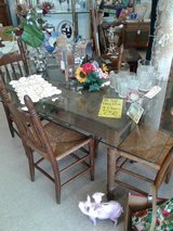 Vintage Farm Table & 4 Chairs #1426-599 in Camp Lejeune, North Carolina