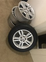 FORD MUSTANG RIMS WITH SPARE in Kingwood, Texas