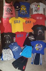 6 - 7 Small sz Boys Summer Clothes Lot in Clarksville, Tennessee