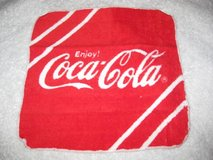 NWT Red Coca-cola towel in Okinawa, Japan