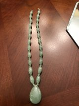 Natural Stone Jade Necklace with 14k closures in Camp Lejeune, North Carolina
