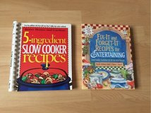 2 slow cooker recipes books in Ramstein, Germany