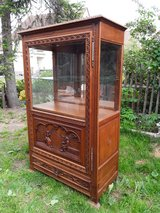 antique showcase in Ramstein, Germany
