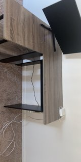 L shaped desk in Fort Campbell, Kentucky