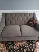 Gray couch in Camp Lejeune, North Carolina