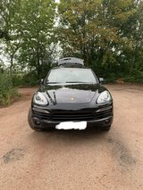 Porsche Cayenne in Ramstein, Germany