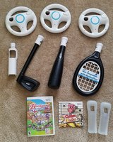 Wii Nerf Accessories and Games in Clarksville, Tennessee