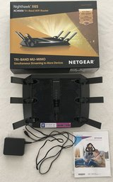 NETGEAR Nighthawk X6S AC4000 Tri-Band WiFi Router Model # R8000P in Gloucester Point, Virginia