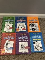 Diary of a a Wimpy Kid books in Naperville, Illinois