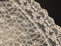 White lace oval tablecloth in Plainfield, Illinois