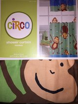 Adorable Monkey Shower Curtain ~ New! in Kingwood, Texas