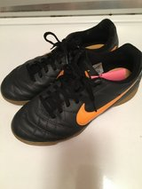 Nike leather indoor soccer shoes in Naperville, Illinois