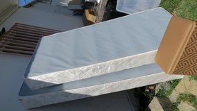 new cond twin size  boxspring free ( take 1 is ok ) in Okinawa, Japan