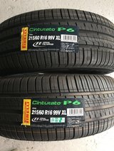 215/60R16 tires and wheels in Okinawa, Japan