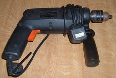 BLACK AND DECKER 1/2 DRILL 240v uk plug in Lakenheath, UK