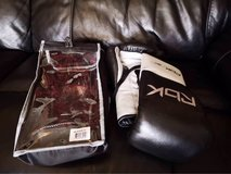 Reebok boxing gloves in Lakenheath, UK