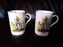 royal memorabilia cups in Lakenheath, UK