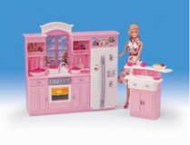 Barbie Size Kitchen Furniture in Joliet, Illinois
