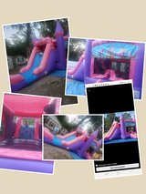 Large commercial combo bounce house and slide in Beaufort, South Carolina
