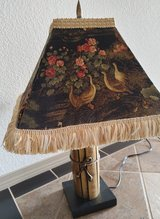 2 Orient Lamps w/custom made shade in Alamogordo, New Mexico