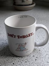 Don't forget... I love you mug in Ramstein, Germany