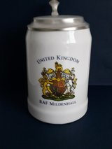 RAF Mildenhall beer stein in Ramstein, Germany
