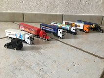 6 big rigs and 1 cab in Stuttgart, GE