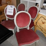4 Medaillon Chairs        Article number: 044987 in Ramstein, Germany