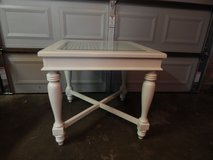 White Wood &Glass Table in Conroe, Texas