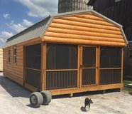 Amish made cabin in Fort Campbell, Kentucky