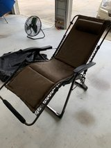 Zero Gravity Padded Lounger in Camp Lejeune, North Carolina