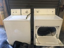 Kenmore Matching Washer/Dryer Set in Nellis AFB, Nevada