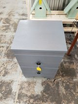 Grey Stained Oak 2 Drawer in Camp Lejeune, North Carolina