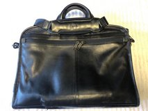 TUMI Leather Briefcase in Okinawa, Japan