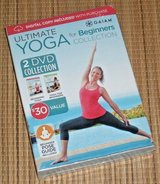 NEW Ultimate Yoga For Beginners Collection Gaiam 2 Disc DVD w Digital Copy in Bolingbrook, Illinois