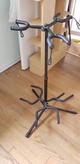 Guitar stands in Ramstein, Germany