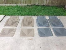 Floor Mats (Grey) 1 set in Houston, Texas