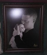 Loving family picture/photo father and infant or just use frame 20x24x1.25 in Plainfield, Illinois