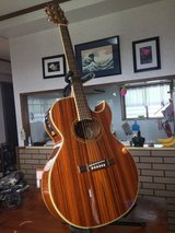 ROCKSTAR! Washburn acoustic/electric guitar and accessories in Okinawa, Japan