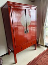 Antique Chinese Cabinet in Okinawa, Japan