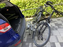 EUFAB bicycle carrier in Spangdahlem, Germany