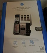 AT&T Phones Landlines 4 Handset Cordless Answering System with Caller ID/ Call Waiting in Fort Campbell, Kentucky