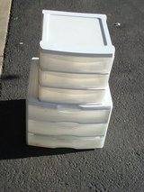 TWO SETS OF PLASTIC DRAWERS in Naperville, Illinois