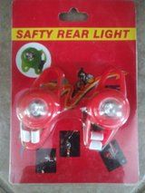 Brand new bike - bicycle lights - 2 pack in Spring, Texas