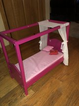 Sweet Canopy Bed that your American Girl Doll with Love! in Naperville, Illinois