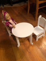 Doll Table & Chairs, Fits American Girl Dolls and More in Plainfield, Illinois