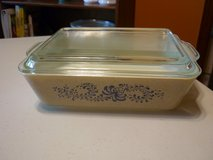 VINTAGE PYREX #503 HOMESTEAD REFRIGERATOR DISH W LID in Naperville, Illinois