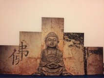 5pc Buddha wall decor in Ramstein, Germany