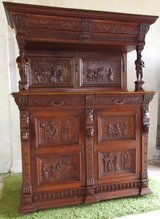 Large antique Breton credenca buffet cabinet - around 1860 in Spangdahlem, Germany